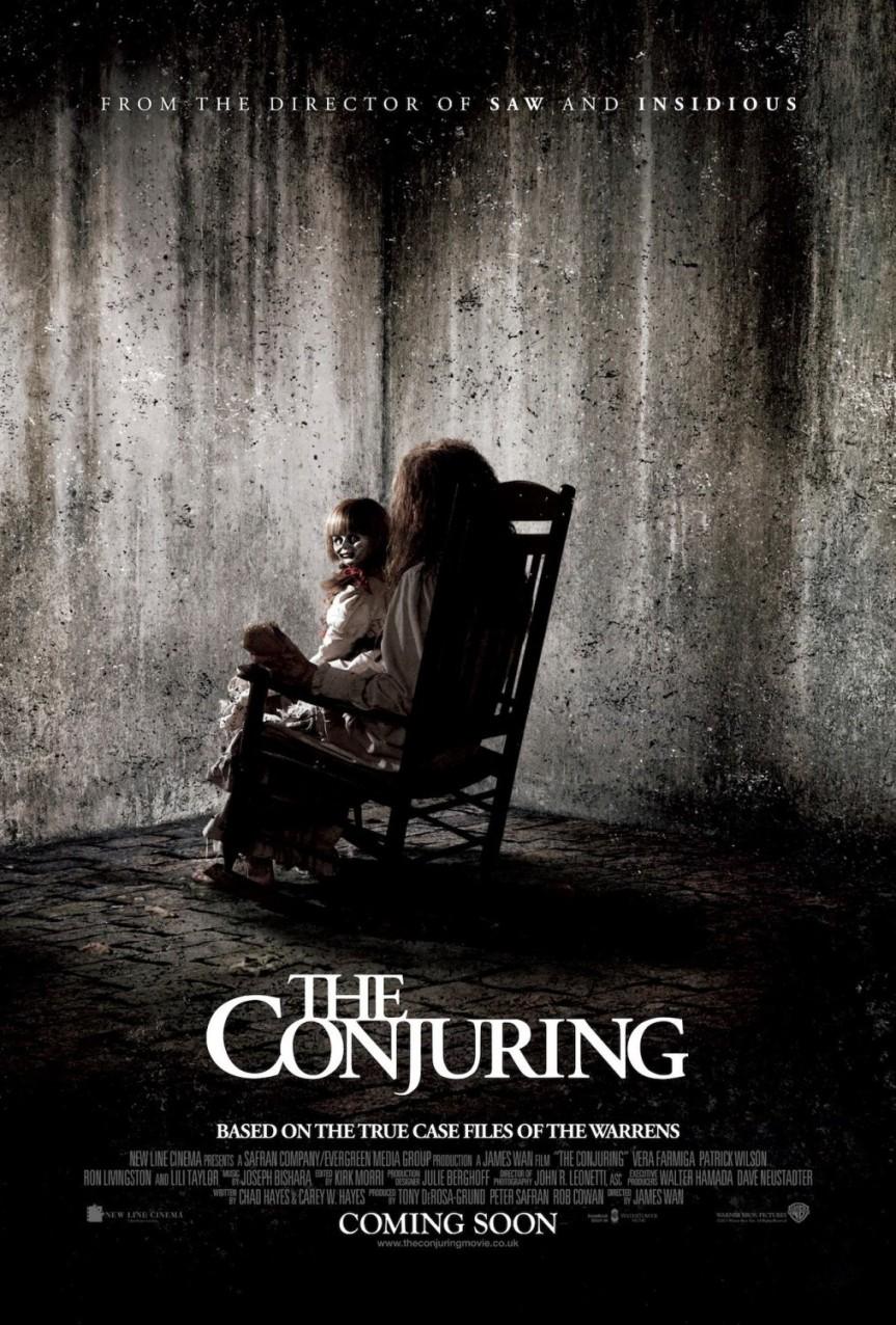 THE CONJURING pre-estreno