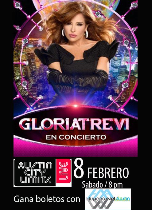 FOTOS Gloria Trevi en concierto 8 deFebrero