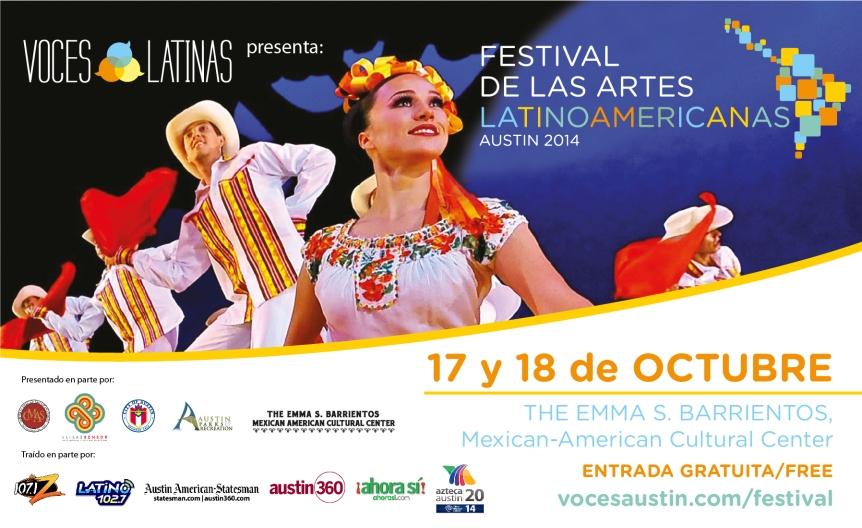 """""""Festival de las Artes LATINOAMERICANAS"""" 17 y 18 DEOctubre"""