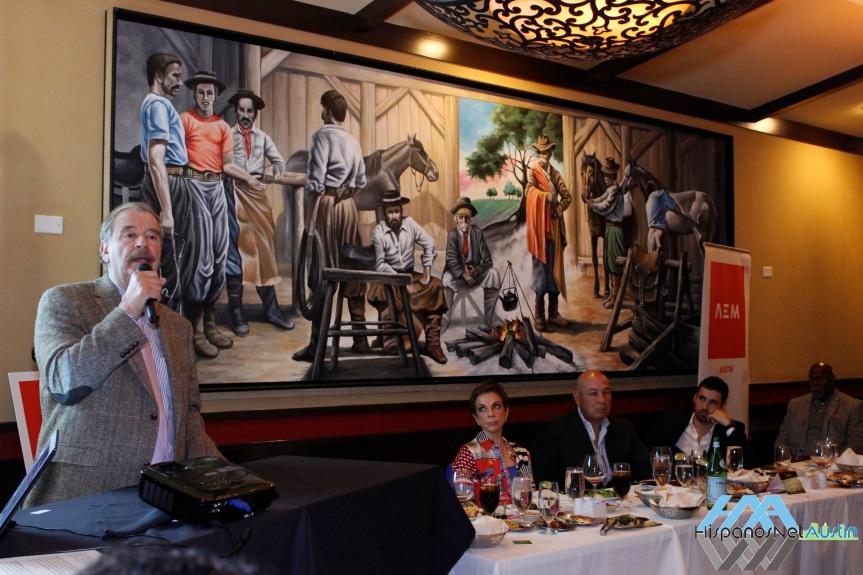 AEM – Austin presentó Ex- Presidente VicenteFox