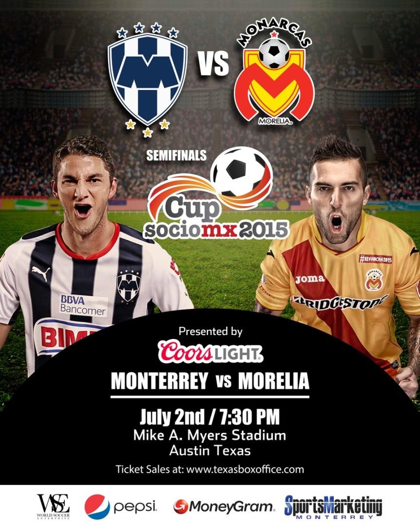 Cup Socio MX 2015 | Monterrey VSMorelia